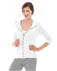 Selene Yoga Hoodie-XS-White