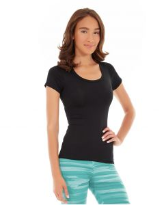 Desiree Fitness Tee-XS-Black