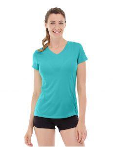 Gabrielle Micro Sleeve Top-XS-Blue