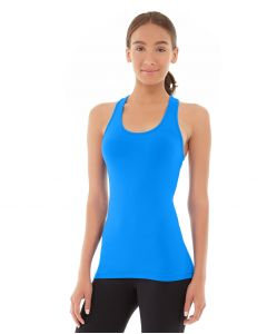 Chloe Compete Tank-S-Blue